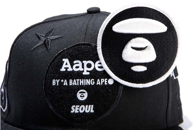 Aape x New Era Embroidered Patch Baseball Cap_HK$599_1 (2)