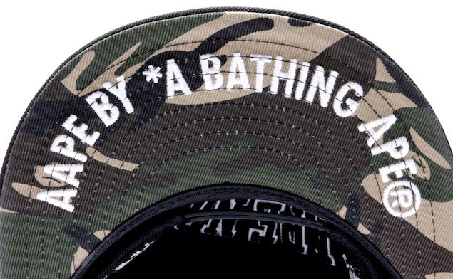 Aape x New Era Embroidered Patch Baseball Cap_HK$599_1 (8)