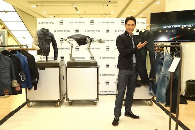 G-STAR RAW 3D褲款公關巡迴展 台灣站記者會 活動嘉賓-路斯明2