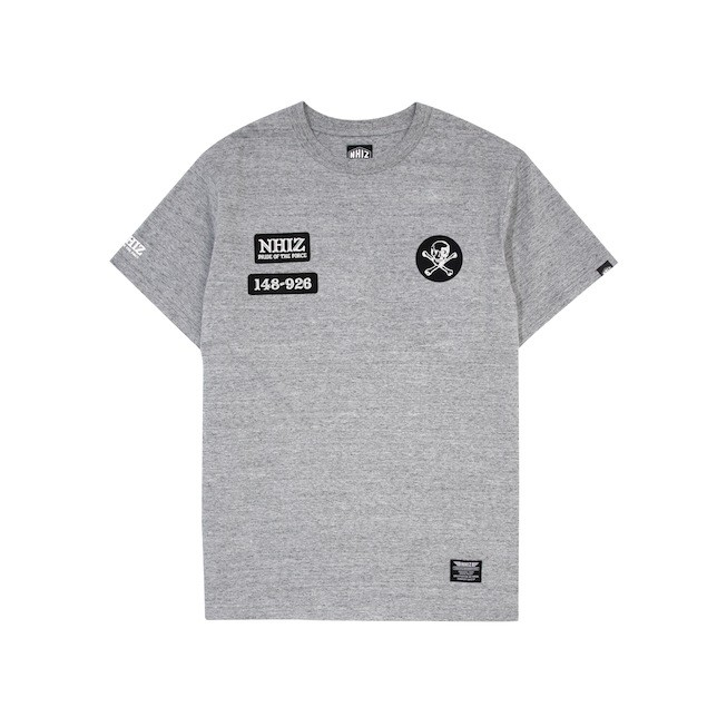 NHIZ BADGE+PATCH TEE $439