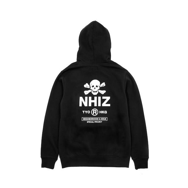 NHIZ BASIC PRINT HOODIE $799 (back)