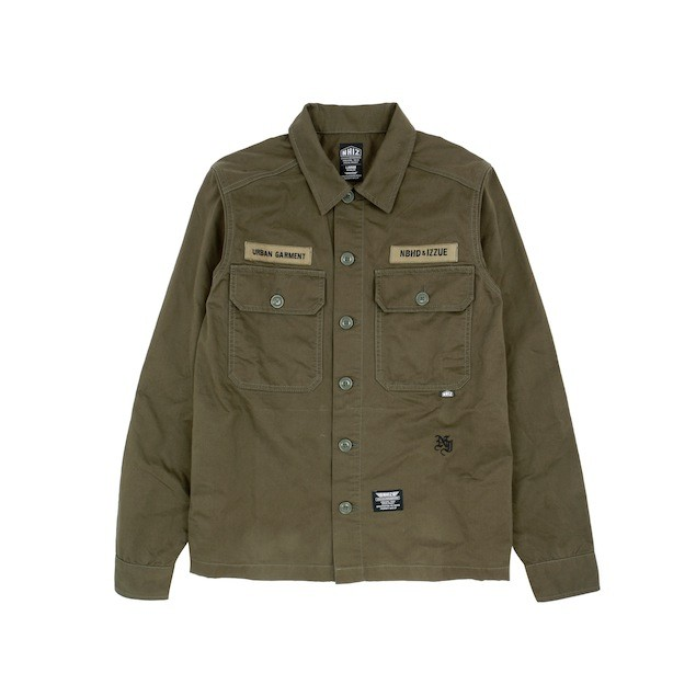 NHIZ EMBROID CAMP SHIRT $1,299 (front)