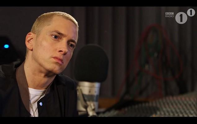 Eminem 接受 BBC Radio 1 的 Zane Lowe 訪問3