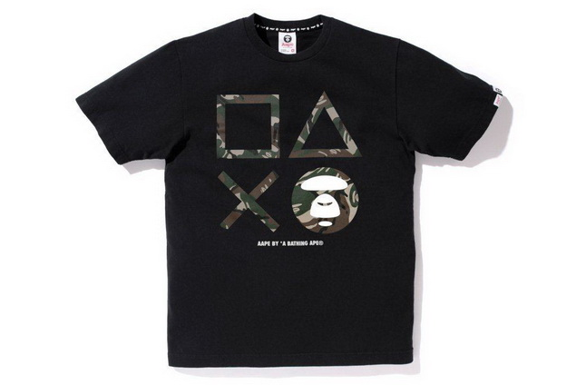 Aape x PlayStation4 Crossover Tee _ HK$499 (1)_