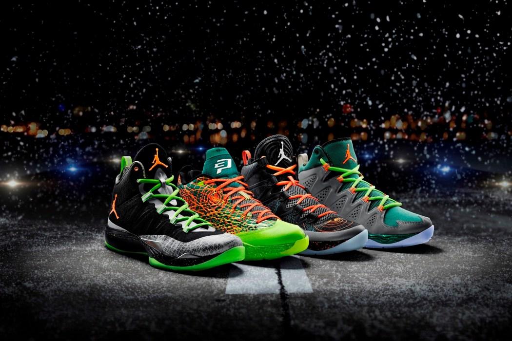 Jordan Brand 聖誕節鞋款以聖誕假期空中飛行航班為概念設計