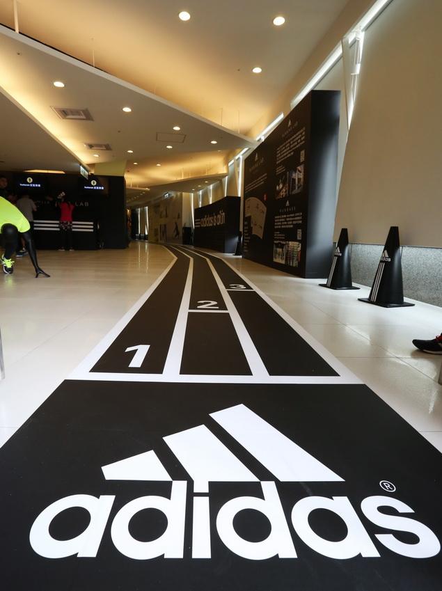 adidas RUNNING LAB TAIPEI 以室內擬真跑道為設計動線環繞整個場館 完整集結全方位的跑者服務體驗項目_000