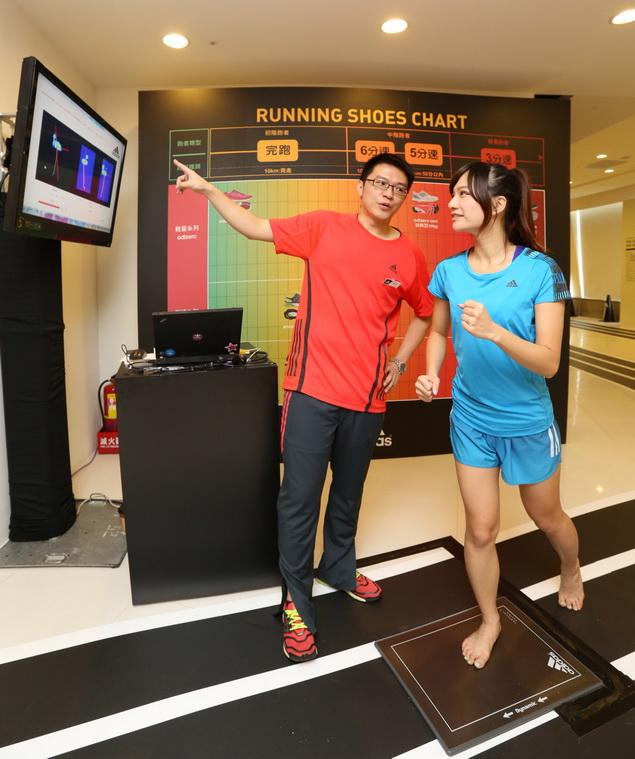 adidas RUNNING LAB TAIPEI 以室內擬真跑道為設計動線環繞整個場館 完整集結全方位的跑者服務體驗項目_007