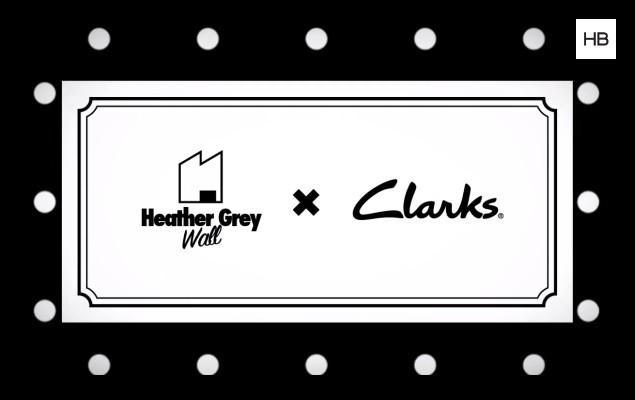 Heather Grey Wall x Clarks