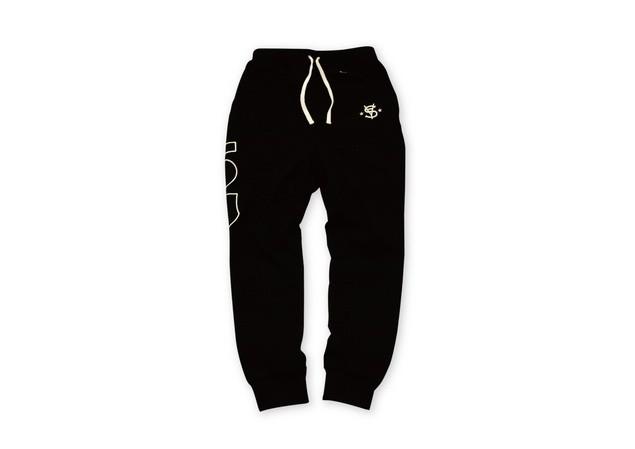 MR.SAY NAVY Patch Sport Pants-1-01_