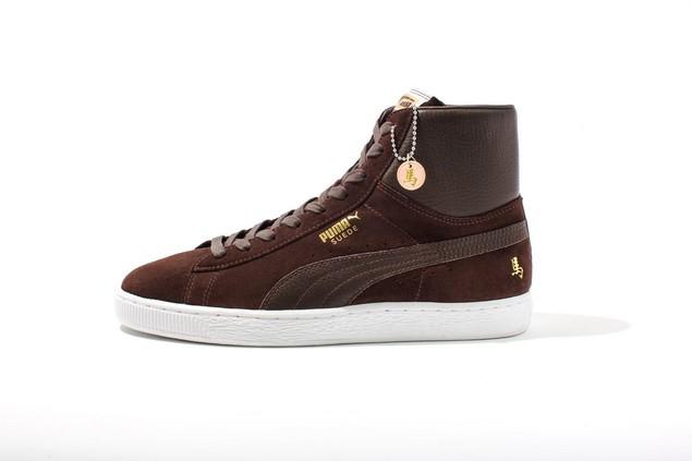 PUMA Suede Classic 馬年紀念鞋款_建議售價NT$ 2,583(咖啡)_