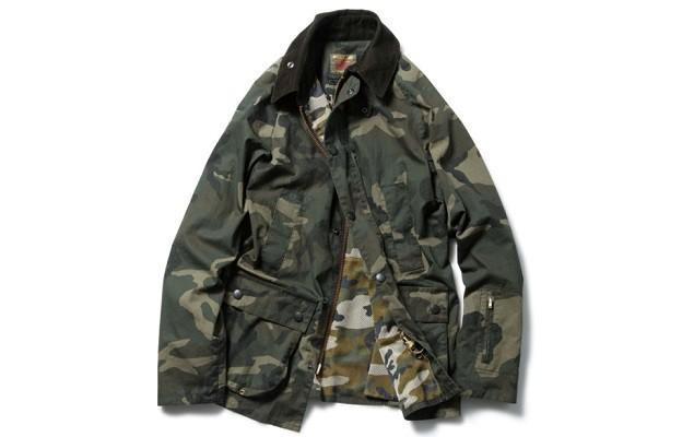sophnet-x-barbour-2014-spring-slim-fit-bedale-jacket-1