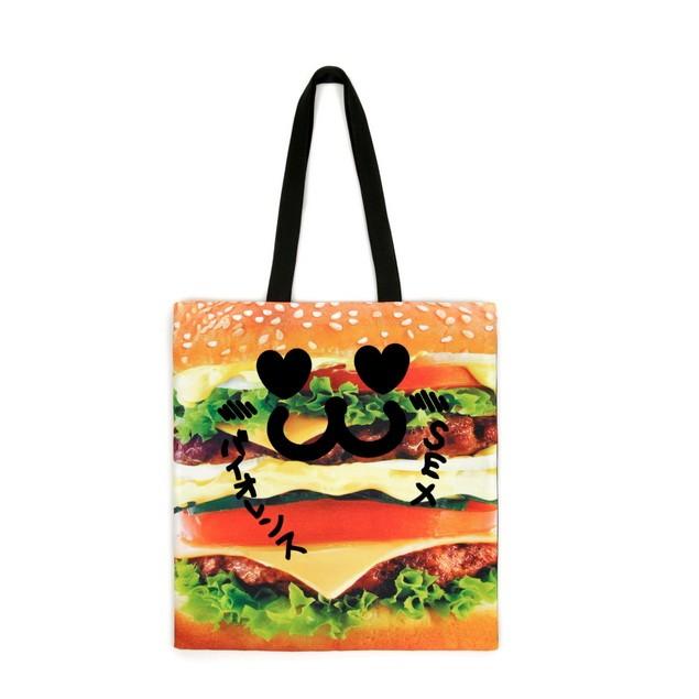 HYOMA SP14 Burger Shopping Bag $299