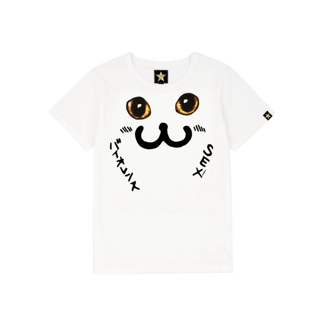 HYOMA SP14 Cat Eyes Print Tee $429