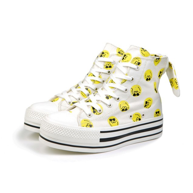 HYOMA SP14  Hyoma All-over White Trainers $799