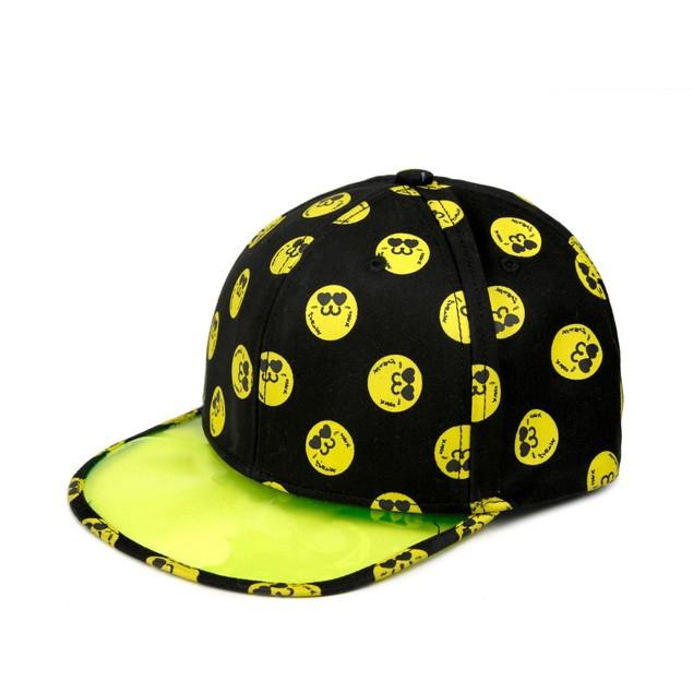 HYOMA SP14 Hyoma all-over Black Snapback Hat $399