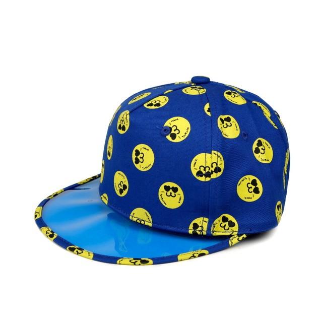 HYOMA SP14 Hyoma all-over Blue Snapback Hat $399