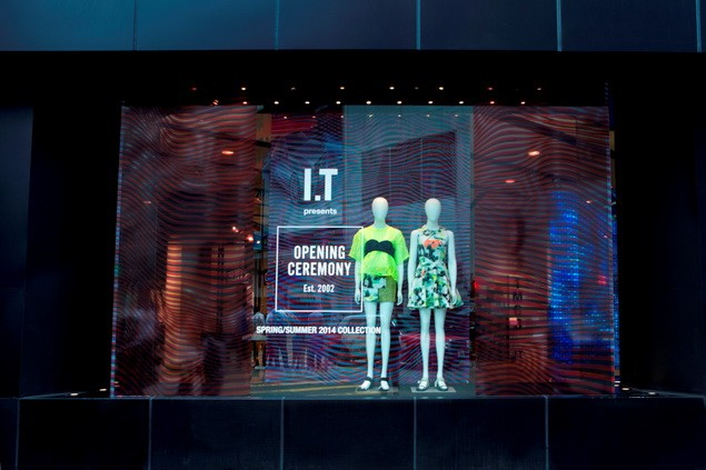 OPENING CEREMONY_Pop-up store at Hysan_window display