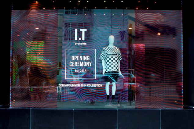 OPENING CEREMONY_Pop-up store at Hysan_window display_