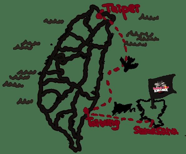 samasana island map