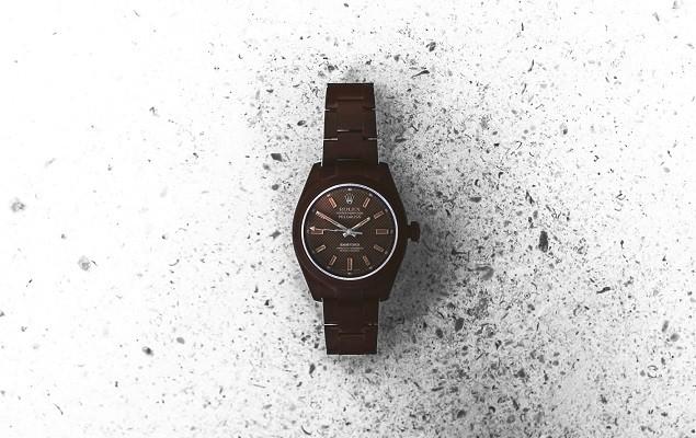bamford-watch-department-rolex-chocolate-milgauss-1
