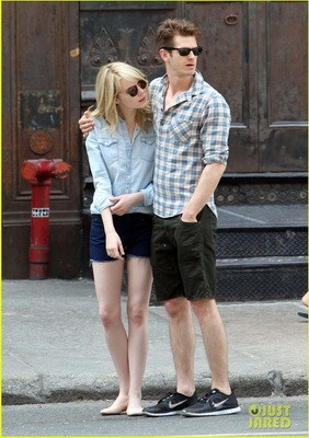 Andrew Garfield & Emma Stone Out To Lunch In NYC