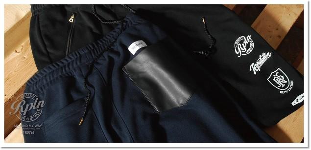 2014 REPUTATION AMW SS 口袋拼接棉褲 形象-05-01