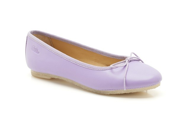 Lia Grace Lilac Leather