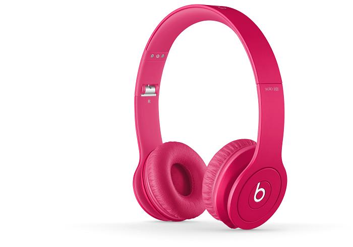 Beats Solo HD--泡泡糖粉紅