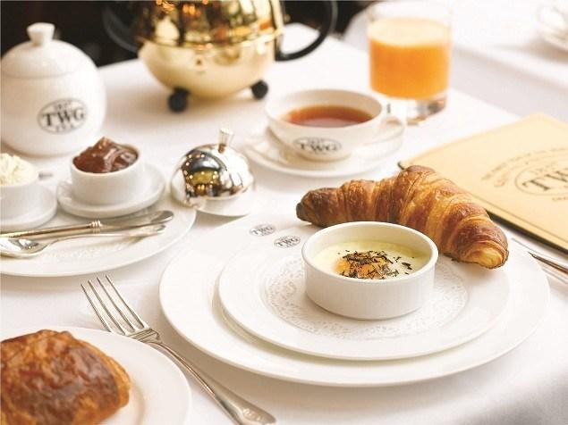 TWG Tea 新加坡早餐