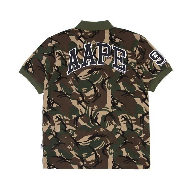 AAPE x CHAMPION CAMO POLO_back ($599)