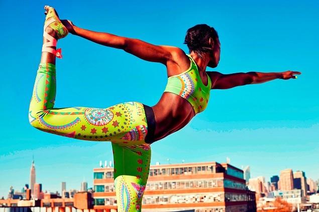 Nike Tight of the Moment-Sparkling Sunburst_1