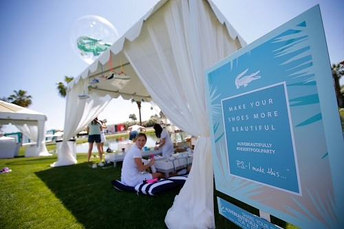 LACOSTE Beautiful Desert Pool Party - Day 1