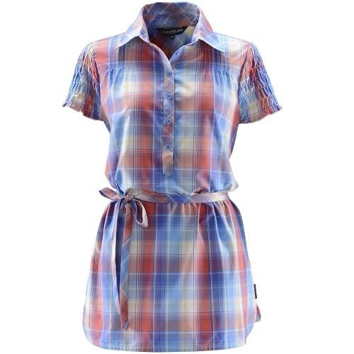 圖3-TRAVELER女款涼感抑臭吸排抗UV襯衫_售價1,980元