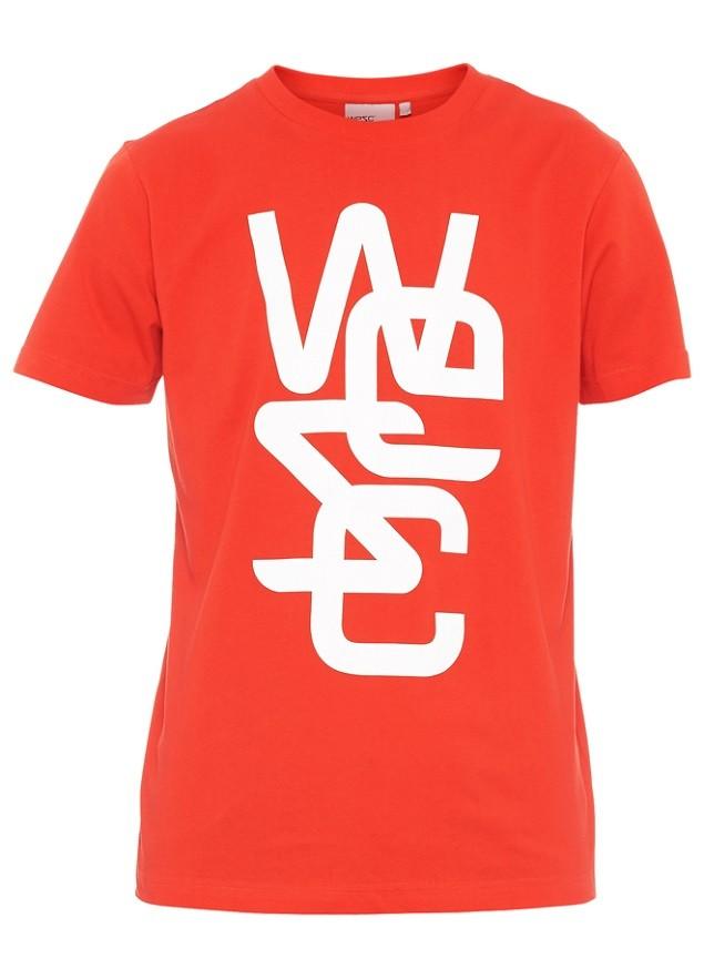 WeSC 紅底Logo 短T NT$1,080