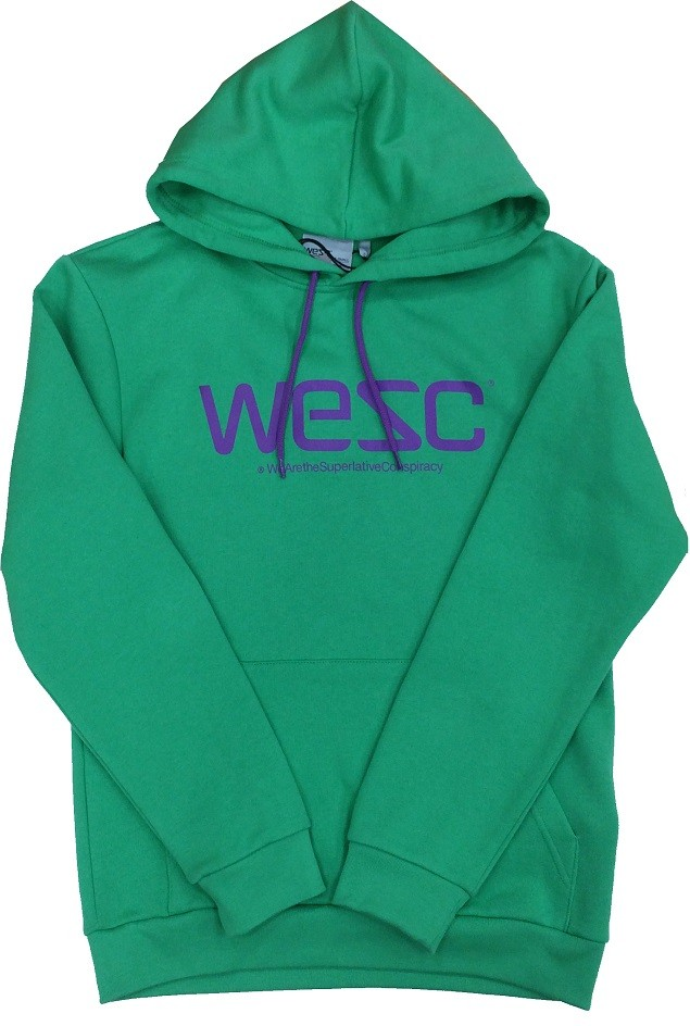 WeSC 綠底Logo帽T NT$2,880