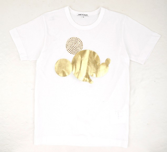 COMME des GARCONS SS14 Golden Mickey  HeadTee($1599)