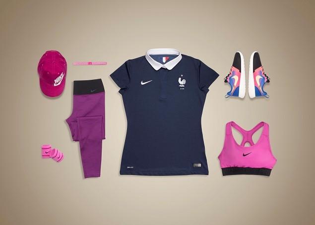法國足球國家代表隊女子專屬商品展現既活潑俏皮又不失法國特色的風格內涵