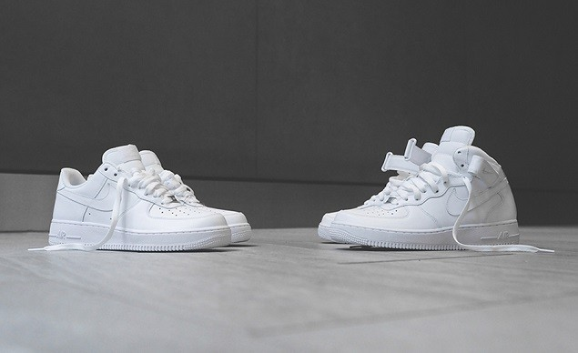 all-white-air-forces