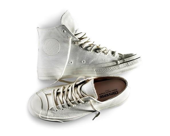 《圖一》CONVERSE與法國時裝品牌Maison Martin Margiela二度合作推出全球限量聯名鞋款