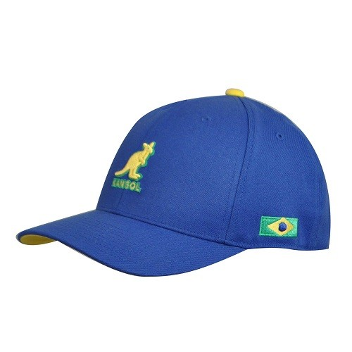 2014世界盃Kangol戰帽(巴西代表棒球帽款) NT$1680