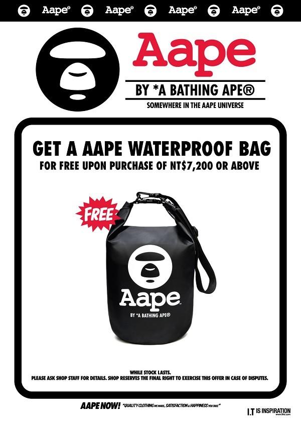 Aape waterproof bag pop_TW