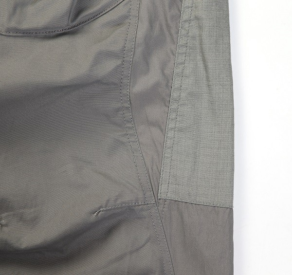 Tonal Panel 3_4 Shorts_(Grey3)