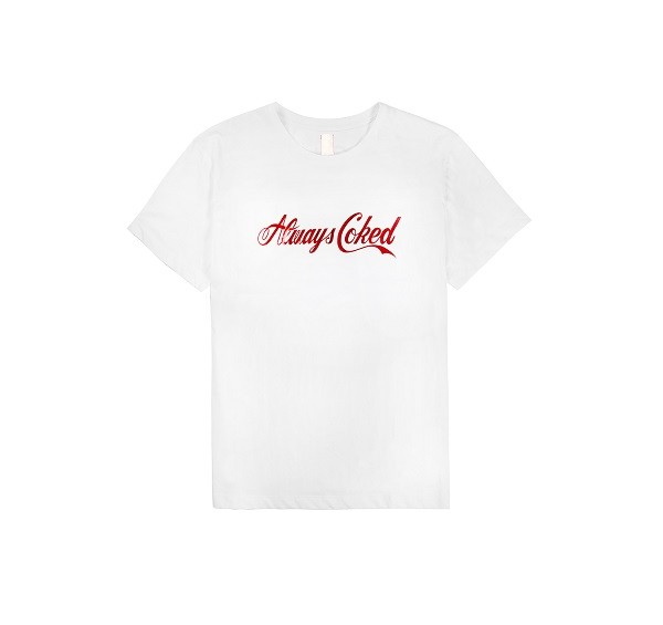 Always Coked Tee_(White_Red1)
