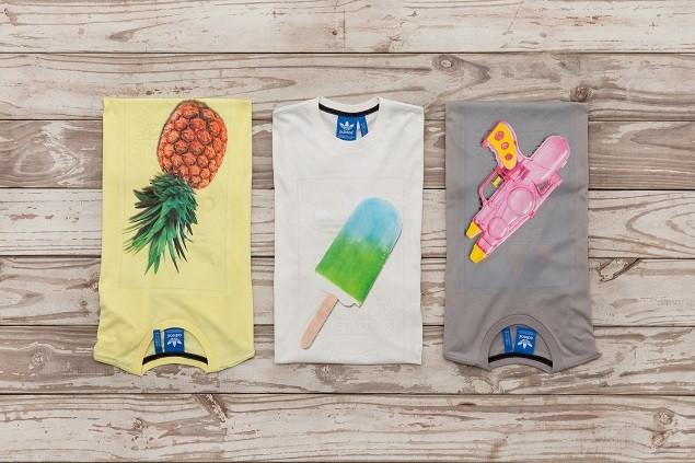 adidas Originals 夏日繽紛系列-冰棒.水槍.鳳梨印花 TEE  NTD 1,490