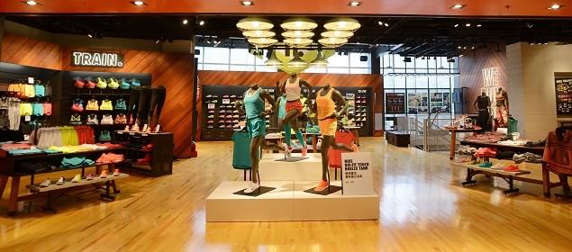 Nike臺北Neo19跑步體驗店二樓為女性專屬空間,提供完整的跑步、訓練以及運動生活系列產品 (2)