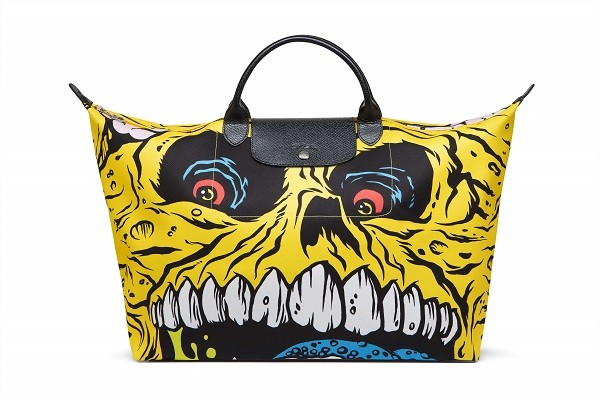 Longchamp_Jeremy Scott_MADBALLS狂球怪獸包_黃色_NT$11,900