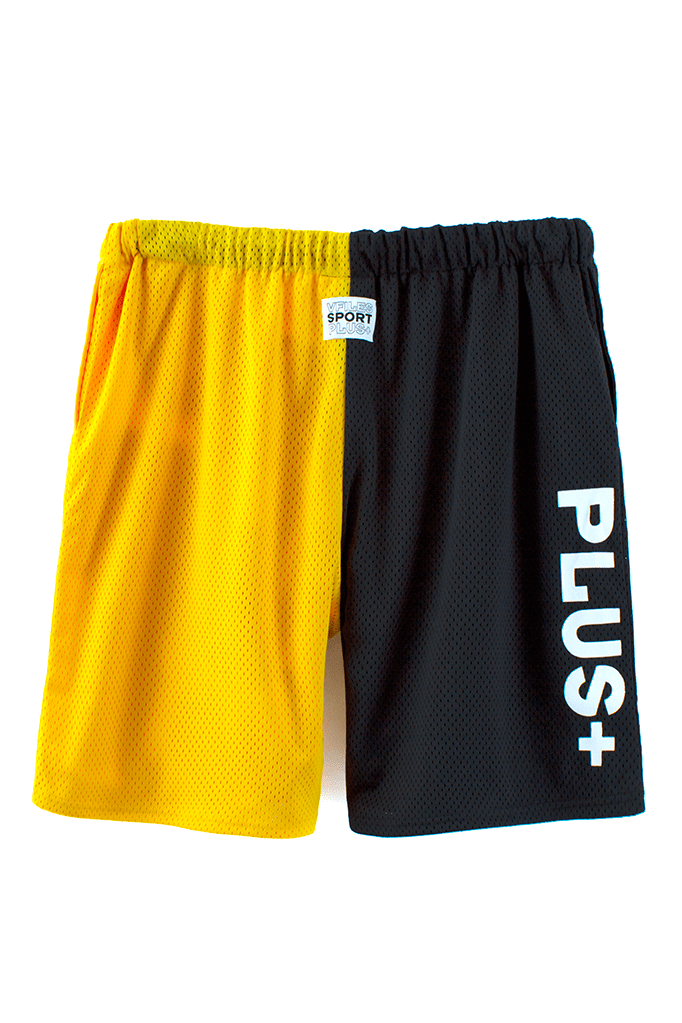 VFile Sport Plus_Motocross shorts_yellow back