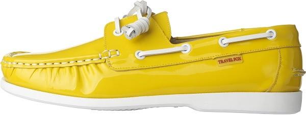 TRAVEL FOX 世足推薦鞋款-巴西隊_STYLE風格-帆船鞋款(黃)_原價$3,000元(男&女)