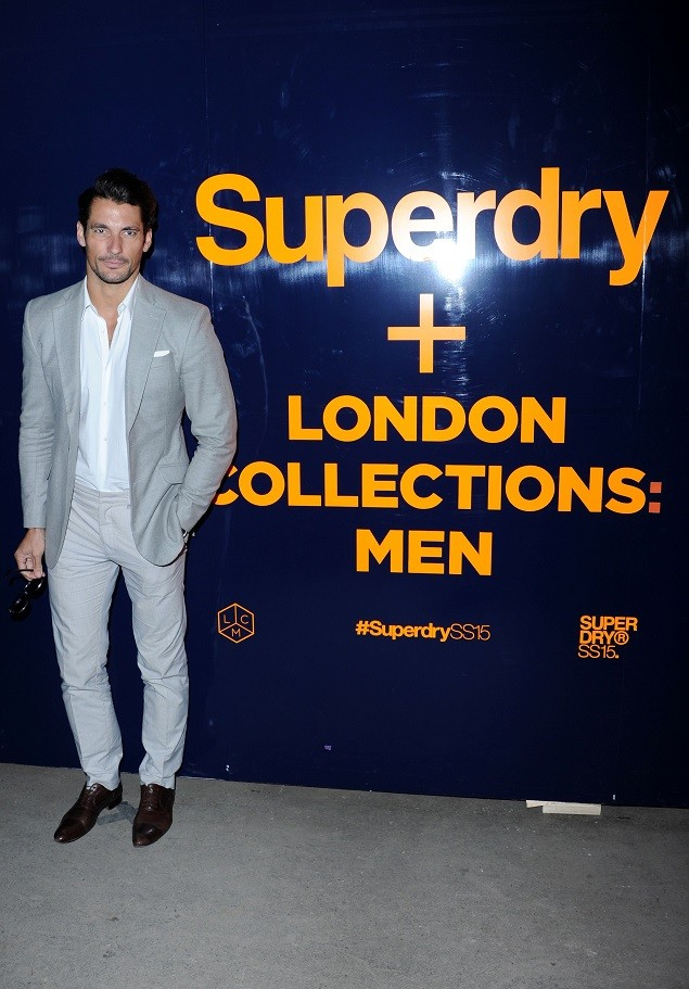 attends The Superdry SS15 Event on June 14, 2014 in London, England.