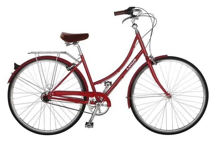 LINUS Dutchi 荷蘭時尚款-蘋果紅_女模Bernice示範車款
